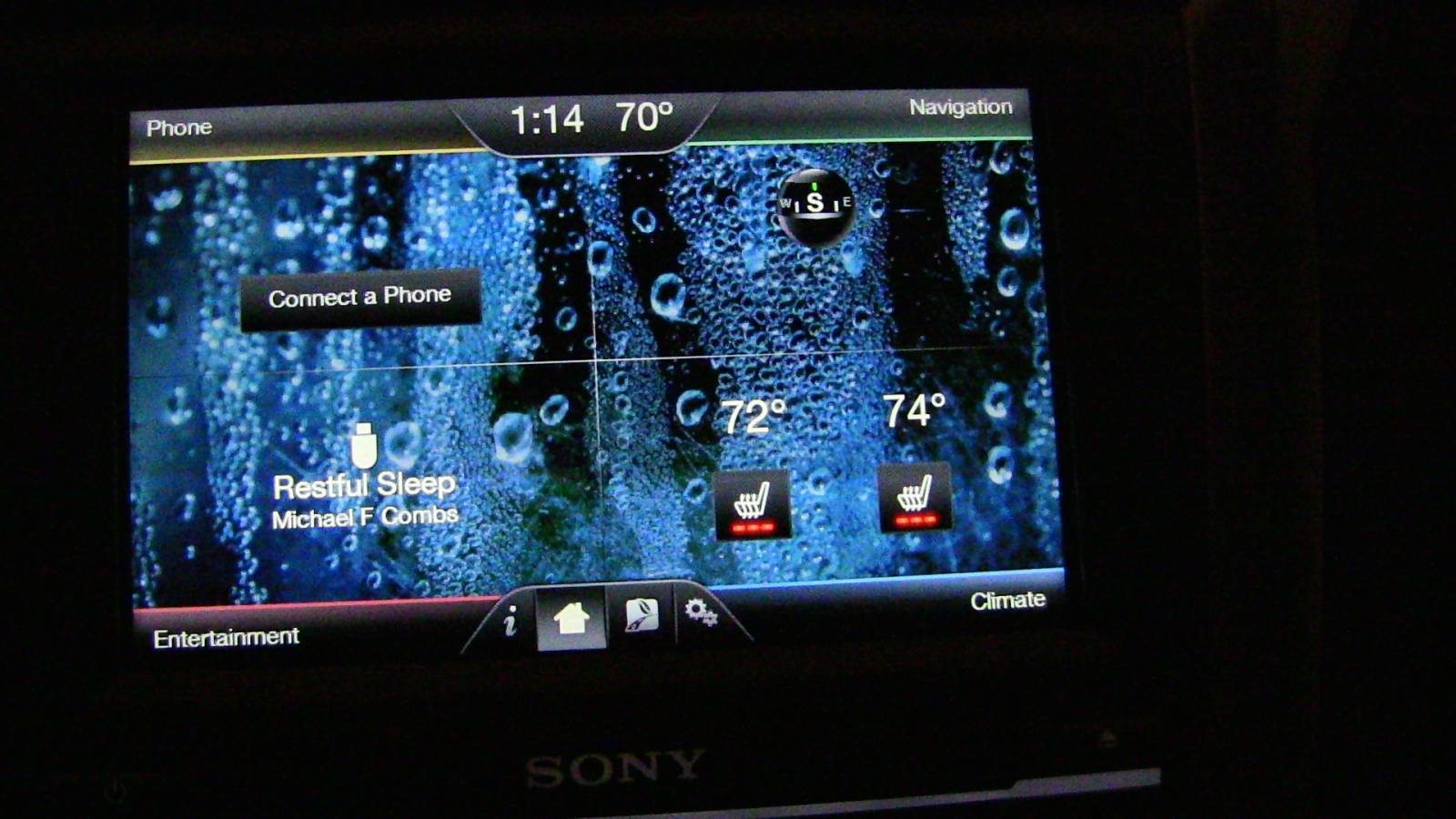 Myford touch home screen splendida futuris bright future photo gallery ford fusion