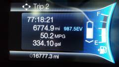 Trip 2 being used as Lifetime Summary