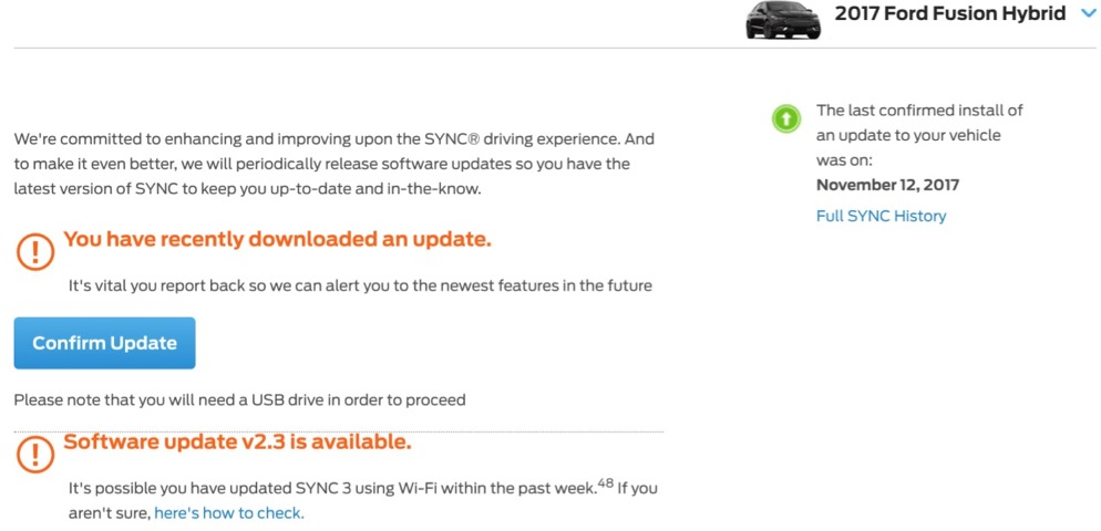 SYNC3 Version 2 3 Thread - Audio, MyFord, Navigation & SYNC